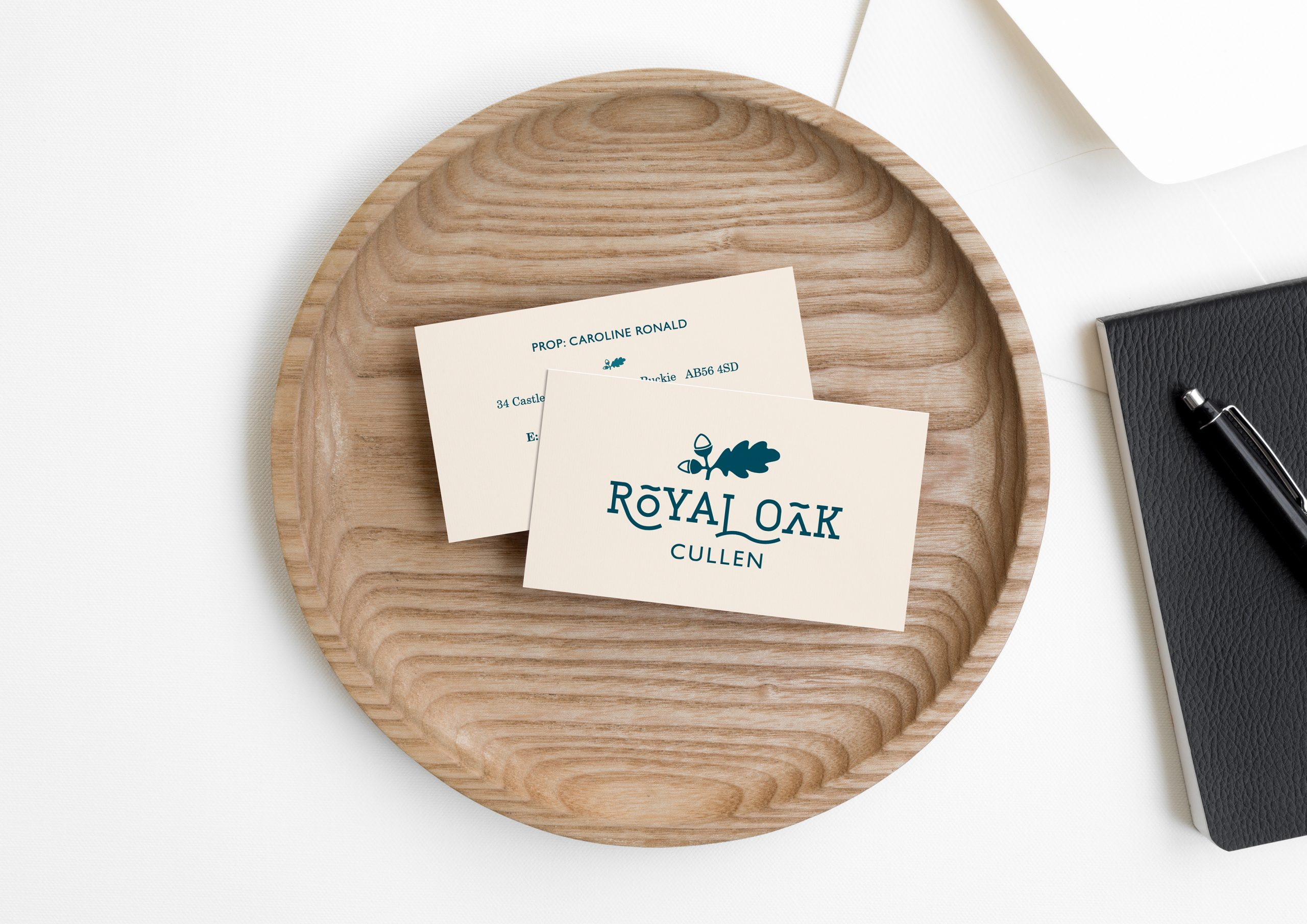Royal Oak Business Cards